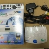 กล่องดิจิตอล วันบ๊อกโอม กล่องสีขาว/ฟ้า (white) เครื่องรับสัญญาณโทรทัศน์ภาคพื้นดิน