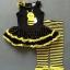 ชุดผึ้งเด็กหญิงลาผึ้งสีดำ เหลือง ตัวชุดแยกกับกางเกงน่ารักมากๆ ค่ะ thumbnail 2