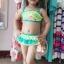 ชุดว่ายน้ำทูพีชทิงเกอเบลสีเขียว สายปรับได้ค่ะ น่ารักมากๆ เลย thumbnail 1
