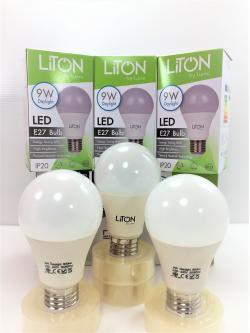 หลอด LED E27 9W เดย์ไลท์ Lumi