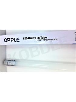 หลอด T8 LED U1-TUBE 18W 6500K 15,000ชม เดย์ opple