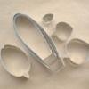 พิมพ์ตัด รองเท้านารีฝาหอย L (Paph. bellatulum L cutter)