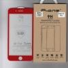 ฟิล์มกระจกนิรภัย iPhone 7 PLUS/iphone 8 plus แบบ 5D เต็มจอ ขอบโค้ง (สีแดง)