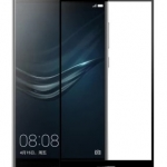 P-one ฟิล์มกระจก Huawei P9 Plus เต็มจอ (สีดำ)