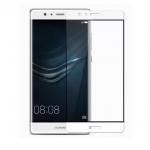 P-one ฟิล์มกระจก Huawei P9 Plus เต็มจอ (สีขาว)