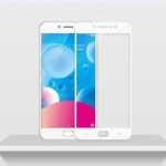 P-one ฟิล์มกระจก Vivo V5 Plus เต็มจอ (สีขาว)